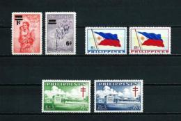 Filipinas  Nº Yvert  467/8-469/70-483/4  En Nuevo - Philippinen
