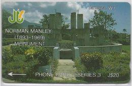 JAMAICA - NORMAN MANLEY MONUMENT - 14JAMC - Jamaica