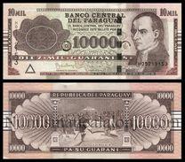 Paraguay 10000 Guaraníes 2015 Pick 224f New SC UNC - Paraguay