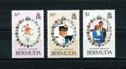 Bermudas  Nº Yvert  402/4  En Nuevo - Bermudas