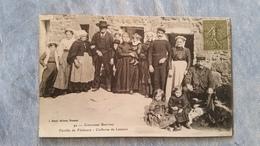 FAMILLE DE PÊCHEURS - COIFFURES DE LANNION - 22 - Lannion