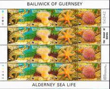 Alderney MNH Sheetlet - Unused Stamps