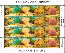 Alderney MNH Sheetlet - W.W.F.