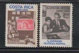 MNH Air Set COSTA RICA 1970 Columbus Scott C502-503 - Costa Rica