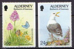 Alderney MNH Partly Imperforated Stamps - Stamps