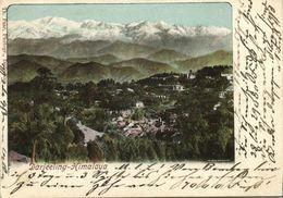 British India, DARJEELING, Himalaya (1903) Th. Paar Court Card Postcard - India