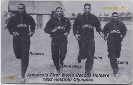 JAMAICA - FIRST WORLD RECORD HOLDERS - 1952 HELSINKI - 72JAMD - Jamaica