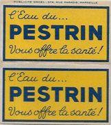 Papier à Cigarettes Publicité Publicitaire Complet De Ses Feuilles PESTRIN - Advertising Items
