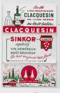 Papier à Cigarettes Publicité Publicitaire Complet De Ses Feuilles CLACQUESIN - Advertising Items