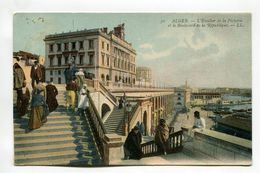 Alger - L'Escalier De La Pecherie Et Le Boulevard De La Republique - Algiers