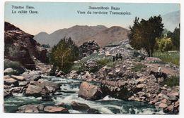 Transcaspian Views. Gorge Gava. - Kirgisistan
