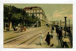 Alger - Boulevard De La Replublique Et Square Bresson - Algiers