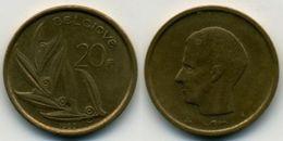 BELGIQUE - BELGIË - 20 FRANCS - BAUDOUIN I (1982) - 07. 20 Francs