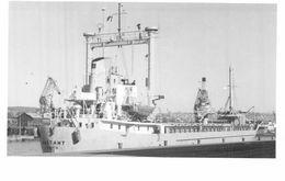 PHOTO BATEAU BASTANT FRED OLSEN 1965 KRISTIANSANDS - Boats