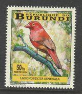 9] 1 Timbre 1 Stamp ** Burundi Oiseau Bird Amarante Passereau Firefinch Passerine Lagonosticta Senegala - Burundi