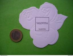 VALENTINO - Carte Parfumée - Perfume Cards