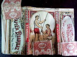 Turkey,Ottoman,PAPER OF CIGARETTES #1916 Djambaz ,VF.. - Cigarette Holders