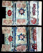 Turkey,Ottoman,2 PAPER OF CIGARETTES,with Nice Error #1916 Pareretoile,VF.. - Cigarette Holders