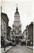 - 01 - BOURG-en-BRESSE. - Rue Et Eglise Notre-Dame - Carte Photo - - Bourg-en-Bresse
