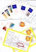 SWISS, DOMINICAN REP. Tourist Stamps - Lot De Timbres Pour Touristes - Schweiz