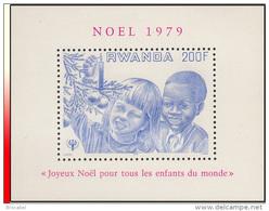 Rwanda BL 083**  Noel Et Année Internationale De L'enfant  MNH - Rwanda