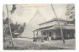 CEYLAN  - Kelaniya Temple & Dagoba -    - L 1 - Postcards