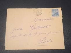 GUYANE - Devant D 'enveloppe De Cayenne Pour Paris En 1920  -  L 10748 - Guyane Française (1886-1949)