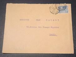 GUYANE - Devant D 'enveloppe De Cayenne Pour Paris En 1920  -  L 10749 - Guyane Française (1886-1949)