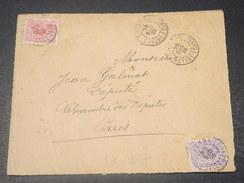 GUYANE - Devant D 'enveloppe De Cayenne Pour Paris En 1920  -  L 10751 - Guyane Française (1886-1949)