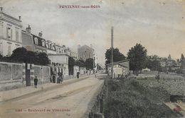 94)  FONTENAY  Sous  BOIS  - Boulevard De Vincennes - Fontenay Sous Bois