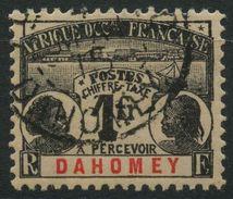 Dahomey (1906) Taxe N 8 (o) - Dahomey (1899-1944)