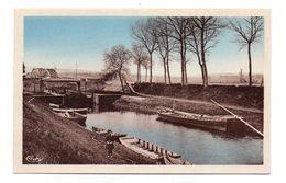 01 - Cpa - PONT DE VAUX - Le Canal Près Du Pont De Fleurville - Pont-de-Vaux