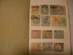 MONDIAL  Stamps Petit Lot  Dans Album - Stamps