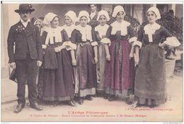 SAINT GIRONS ARIEGE TYPE DE MASSAT GRAND COUCOURS CPA BON ETAT - Saint Girons