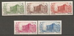 COTE IVOIRE - Yv. N°  146 à 150  *   Révolution    Cote  75 Euro  BE R 2 Scans - Côte-d'Ivoire (1892-1944)