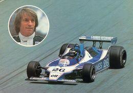 Grand Prix  1979  -  Jacques Laffite  -  Ligier-Gitanes JS11    -  Carte Postale - Grand Prix / F1