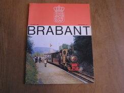BRABANT Revue N° 1 1980 Régionalisme Brabant Wallon Bruxelles Parc Jette Carnaval Wauters Hélécine Aywières Presbytères - Culture