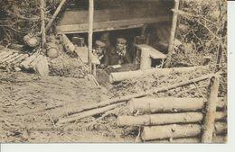 """AK """"Fernsprechunterstand"""" - Guerre 1914-18"""