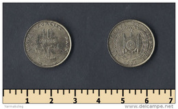 Djibouti 10 Francs 1996 - Djibouti