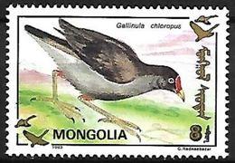 Mongolia - MNH - 1993 - Common Moorhen (Gallinula Chloropus) - Vogels