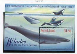 1998 - NORFOLK ISLAND - Mi. Nr. BLOCK 27 - NH -  (UP.70.4) - Isola Norfolk