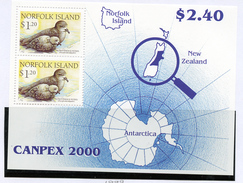 2000 - NORFOLK ISLAND - Mi. Nr. BLOCK 37- NH -  (UP.70.4) - Isola Norfolk