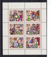 DDR, Kleinbogen 1323/28** - [6] República Democrática