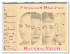 Indonesië 1999, Postfris MNH, National Heroes, Booklet - Indonesië