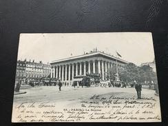 68 - PARIS La Bourse - 1903 Timbrée - France