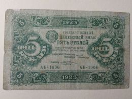 Russia 1923 5 Rubli - Russie