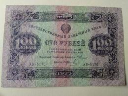 Russia 1923 100 Rubli - Rusland