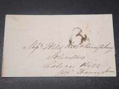 GRANDE BRETAGNE - Lettre En 1828 -  L 10773 - ...-1840 Préphilatélie