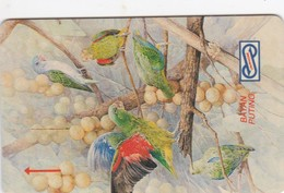 Malaysia, 12MSAA, Lorikeet, Bird, 2 Scans. - Malaysia