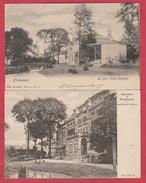 Tienen / Tirlemont - Le Parc Et La Salle St Georges -  2 PK  ( Verso Zien ) - Tienen
